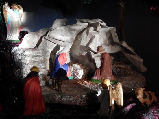 Grandma's Nativity Scene