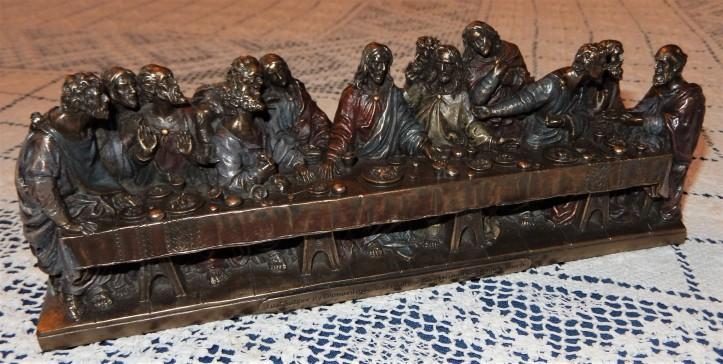 Last Supper sculpture - Oct. 2019
