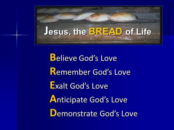 Remembering Bethlehem - BREAD