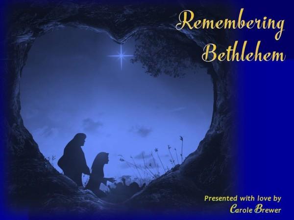 Remembering Bethlehem-title slide