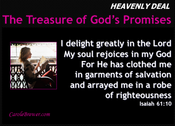 Arrayed me in a robe of righteousness